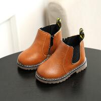 马丁靴秋季男童雪地靴宝宝鞋1-6岁2女童5短靴子3加绒4防水0