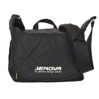 吉尼佛47103摄影包单肩单反相机包佳能尼康防水包轻便休闲包便携 黑色