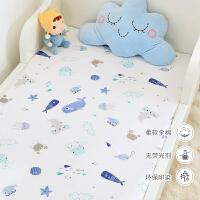 定做 纯棉儿童床单单件 婴儿宝宝幼儿园单人床1.2m米卡通小孩被单