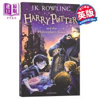 哈利波特与魔法石 英文原版 Harry Potter and the Philosopher Stone Sorcerer's Stone 哈利波特1 英国版 JK罗琳