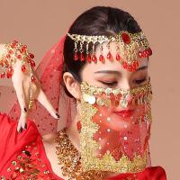 肚皮舞遮面纱巾面纱面纱印度舞蹈面纱表演出配饰