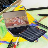 马可雷诺阿3220�\木水溶性彩色铅笔 铅芯水溶彩铅铁盒装