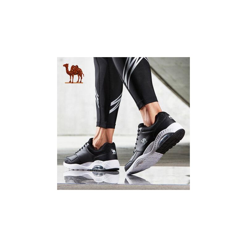 骆驼运动鞋男冬季新款轻便透气跑步鞋男鞋子缓震气垫跑鞋