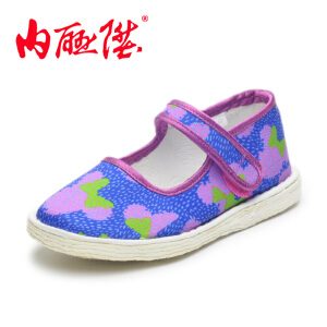 内联升 童鞋【迪士尼】米妮混格米奇手工千层底老北京布鞋 5457C