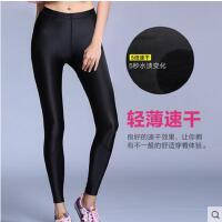 户外高腰健身裤训练紧身吸湿速干裤跑步弹力运动裤 终极科技压缩裤女