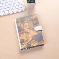 32K清明上河图磁扣本可爱手帐创意日记本厚商务记事本子学生文具用品