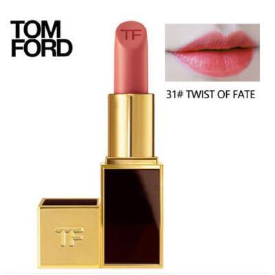 Tom Ford汤姆福特TF 黑金黑管唇膏口红3g 31#TWIST OF FATE 夏季护肤 防晒补水保湿 可支持礼品卡