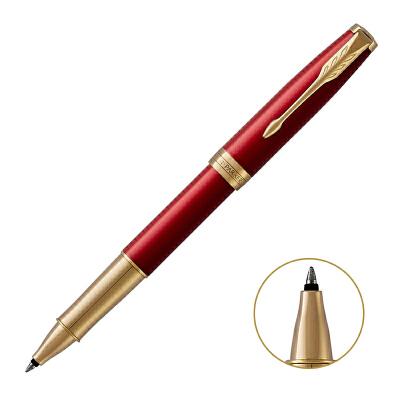 PARKER 2015款派克卓尔宝石红金夹宝珠笔当当自营轻奢配件 精致生活之选 闪电发货