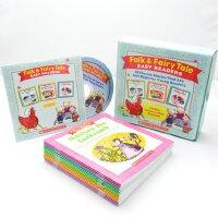 英文原版 学乐经典童话套装 15本书+CD Folk & Fairy Tale box set 分级阅读