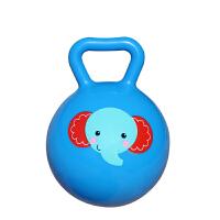 【当当自营】费雪FisherPrice 儿童4寸手柄球摇铃球6-12个月婴儿智力玩具宝宝手抓球皮球F0517-1蓝色