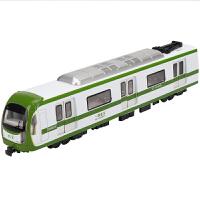 轻轨模型玩具火车模型仿真地铁轻轨男孩声光玩具火车真人语音播报