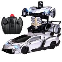 【当当自营】美致模型1:24毒药变形爬墙车双模式切换(地面模式、爬墙模式)一键变形USB充电儿童汽车玩具2828灰色