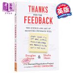 【中商原版】感谢反馈:获得反馈的艺术和科学 英文原版 Thanks for the Feedback : The Sc