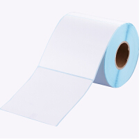 齐心a4不干胶打印纸热敏标签纸50x30mm空白三防快递面单条码打印机贴纸价格标签纸C6425