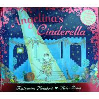 Angelina's Cinderella 芭蕾小精灵安吉莉娜:安吉莉娜的灰姑娘(精装) ISBN9780141333