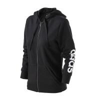 adidas/阿迪达斯 舒适透气运动夹克新款女子针织夹克S97065