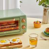 小熊烤箱家用小型小烤箱烘焙多功能全自�与�烤箱迷你家庭早餐�C