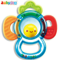 澳贝宝宝玩具手摇铃婴儿摇铃牙胶玩具新生儿启蒙3-6-12个月