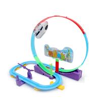 小火车头套装儿童生日礼物仿真电动轨道火车宝宝益智玩具