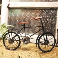 复古自行车模型铁艺工艺品家居家具装饰品橱窗摆件酒吧摆设创意小