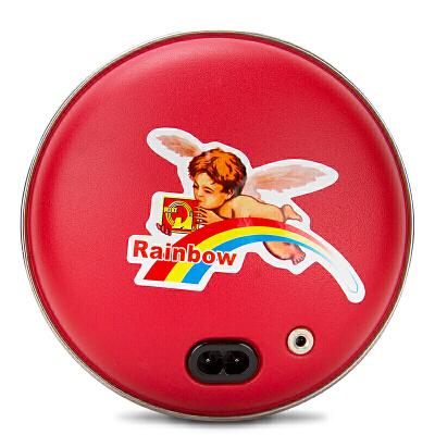 彩虹暖手宝/暖手器大号充电式电热宝暖宝暖手炉快速储热 安全保护 多功能暖宝 温暖便携