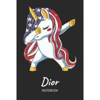 【预订】Dior - Notebook: Blank Ruled Name Personalized & Custom