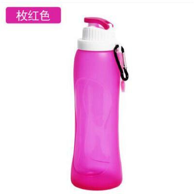 时尚便携旅游硅胶水杯折叠水壶户外可折叠水瓶出行必备运动创意水壶