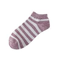 10双夏季男士船袜韩版浅口低帮棉袜运动袜条纹短筒男袜新款男袜潮流袜
