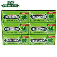 【包邮】箭牌 绿箭口香糖 薄荷味 540g (45g×12条装) 整盒装 休闲糖果
