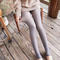 【透肤光腿神器】女士秋冬无缝一体加绒假透肉打底裤空姐灰连裤袜