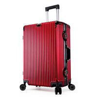 行李箱女小清新韩版可爱学生密码箱拉杆箱铝框复万向轮20寸24寸