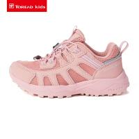 【4折价:159元】探路者童鞋 春夏户外男女童透气网布徒步鞋QFAI85019
