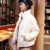 羽绒服女2018新款 秋冬韩版轻薄小个子短款时尚韩版修身外套