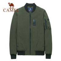 camel骆驼棉衣男短款修身外套棉袄秋冬新款韩版棒球服夹克棉服男潮