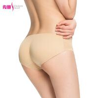 内慧 女士内裤新品 无痕加厚提臀假屁股加垫美臀性感内裤 NP2002