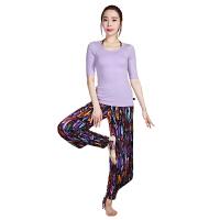 [当当自营]皮尔瑜伽(pieryoga)2018新款瑜伽服套装女 跑步运动健身服修身显瘦两件套 81424丁香紫+黑短