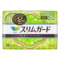 【日本进口】花王乐而雅(laurier)零触感2倍吸收特薄日用进口卫生巾20.5cm28片 单包装(新老包装随机发货)