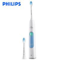 飞利浦(PHILIPS)电动牙刷HX6616/50 成人充电式牙龈护理型牙刷 炫感冰蓝
