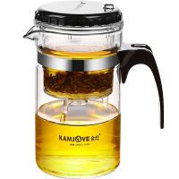金灶TP-120小容量飘逸杯耐热玻璃茶壶带过滤内胆泡茶壶办公室茶具