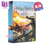 英文原版 哈利波特与火焰杯Harry Potter and the Goblet of Fire 哈利波特4 英国版(