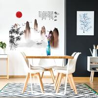 中国风古风壁画字画卧室房间装饰品自粘墙画临江仙墙贴画J 临江仙 特大