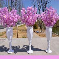 婚庆道具 婚礼路引 罗马柱金杯路引绢花瓶路引 婚庆用品布置