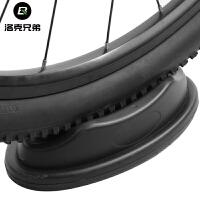 公路山地自行车骑行台前轮垫固定块室内训练塑料垫