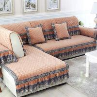 沙发垫套装水晶绒 沙发垫 厚 欧式沙发垫坐垫
