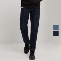 【再叠9折礼券】网易严选 男式抑菌锥形牛仔裤