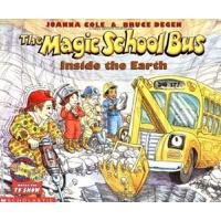 【中商原版】[英文原版]The Magic School Bus Inside the Earth