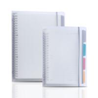 笔记本A5/B5纸透明活页夹日记本替换内芯 书皮手帐本