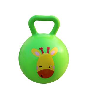 【当当自营】费雪FisherPrice 儿童4寸手柄球摇铃球6-12个月婴儿智力玩具宝宝手抓球皮球F0517-2绿色