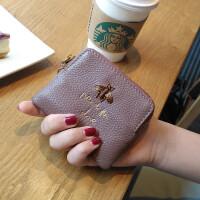 ?包零钱包一体韩版小钱包女短款超薄迷你多功能零钱袋钥匙扣?