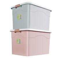 特大号收纳箱衣服棉被整理箱塑料储物箱衣物储蓄箱盒子学生装书箱